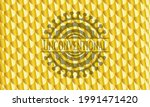 unconventional gold badge or... | Shutterstock .eps vector #1991471420