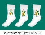 vector set of illustration of... | Shutterstock .eps vector #1991487233
