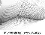 abstract halftone lines... | Shutterstock .eps vector #1991703599