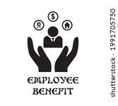 employee benefit icon  ... | Shutterstock .eps vector #1991705750
