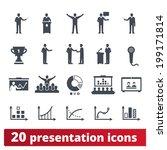 business  presentation  ... | Shutterstock .eps vector #199171814
