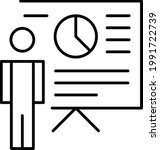 workshops line icon vector... | Shutterstock .eps vector #1991722739