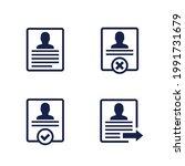 account info  profile  delete... | Shutterstock .eps vector #1991731679