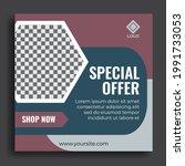sales templates. great vector... | Shutterstock .eps vector #1991733053