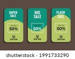 sales templates. great vector... | Shutterstock .eps vector #1991733290