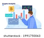 cryptocurrency trading analytic ...   Shutterstock .eps vector #1991750063