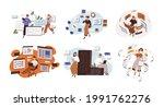 concept of software development ... | Shutterstock .eps vector #1991762276