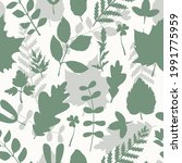 seamless vector pattern with... | Shutterstock .eps vector #1991775959