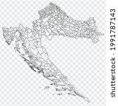 blank map  of croatia....   Shutterstock .eps vector #1991787143