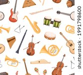 seamless pattern with different ... | Shutterstock .eps vector #1991798600