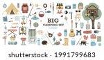 big vector set for camping....   Shutterstock .eps vector #1991799683