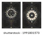 vector dark illustrations with...   Shutterstock .eps vector #1991801573