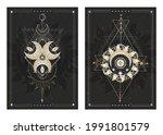 vector dark illustrations with...   Shutterstock .eps vector #1991801579