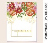 invitation greeting card with...   Shutterstock .eps vector #1991816420