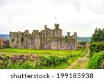 Middleham Castle In Wensleydal...