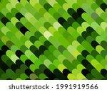 abstract green geometric... | Shutterstock .eps vector #1991919566