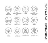 vector set of logos  badges and ...   Shutterstock .eps vector #1991956643