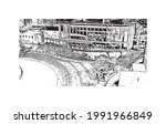building view with landmark of...   Shutterstock .eps vector #1991966849