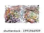 building view with landmark of...   Shutterstock .eps vector #1991966909