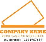simple orange stamped frame...   Shutterstock .eps vector #1991967659