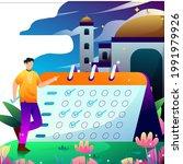elements fasting tracker vector ... | Shutterstock .eps vector #1991979926