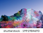 mountains of multicolored...   Shutterstock .eps vector #1991984693