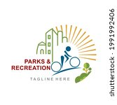 recreation park logo for... | Shutterstock .eps vector #1991992406