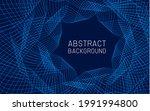 vector blue technology abstract ...   Shutterstock .eps vector #1991994800