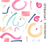 abstract hand painted pattern...   Shutterstock .eps vector #1991998133