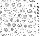seamless pattern abstract...   Shutterstock .eps vector #1992003716
