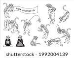 tiger vector illustration...   Shutterstock .eps vector #1992004139