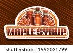 vector logo for maple syrup ... | Shutterstock .eps vector #1992031799