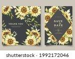 Beautiful Sunflower Invitation...