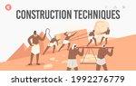 construction techniques landing ...   Shutterstock .eps vector #1992276779