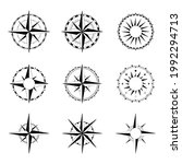 compass rose of winds for... | Shutterstock . vector #1992294713