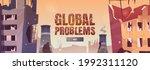 global problems cartoon web... | Shutterstock .eps vector #1992311120