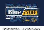 blue core denim  modern and... | Shutterstock .eps vector #1992346529