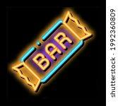 package bar energy food neon... | Shutterstock .eps vector #1992360809