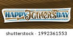 banner for father's day  cut... | Shutterstock . vector #1992361553