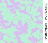 pastel floral brush strokes...   Shutterstock .eps vector #1992425813