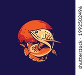 elements beautiful fish logo... | Shutterstock .eps vector #1992502496