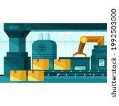 elements factory interior... | Shutterstock .eps vector #1992503000