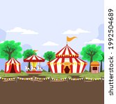 elements circus carnival... | Shutterstock .eps vector #1992504689
