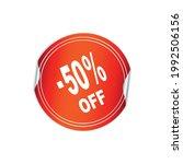 50  price tag design vector...   Shutterstock .eps vector #1992506156