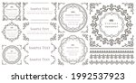 seamless floral border and... | Shutterstock .eps vector #1992537923