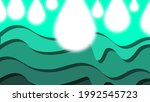 light abstract with green curve ...   Shutterstock .eps vector #1992545723
