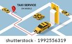 taxi online service concept....   Shutterstock .eps vector #1992556319