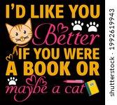 cat lover vector illustration... | Shutterstock .eps vector #1992619943