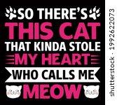 cat lover vector illustration... | Shutterstock .eps vector #1992622073