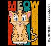 cat lover vector illustration... | Shutterstock .eps vector #1992622079